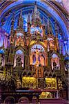 Altarpiece in Notre-Dame Basilica, Montreal, Quebec, Canada
