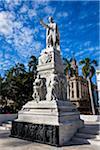 Statue of Jose Marti in Parque Central, La Havana Vieja, Havana, Cuba