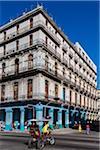 Street Scene and Corner Building, Havana, Cuba
