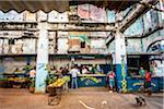 Activity in Local Food Market, Havana, Cuba