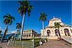Iglesia Parroquial de la Santisima Trinidad in Plaza Mayor, Trinidad, Cuba