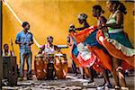 Afro Cuban Musicians and Dancers at Palenque de los Congos Reales, Trinidad, Cuba