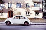 Classical car on street