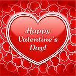 Happy Valentine's Day!, vector eps10 illustration