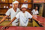 Portrait of Bakers Working in Bakery, Habana Vieja, Ciudad de La Havana, Havana, Cuba