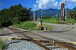 Railway in Minamimaki village, Nagano Prefecture