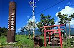JR railway highest point in Minamimaki village, Nagano Prefecture