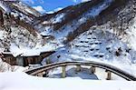 Road in Otari, Nagano Prefecture