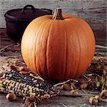 Pumpkin, Corn,cauldron