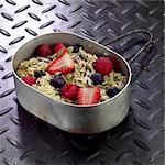 Muesli with Berries - camping