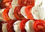 Buffalo Mozzarella and tomato salad with cracked black pepper
