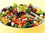 Pepper salad with feta