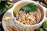 Parley root tea