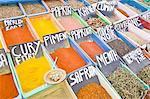 Daily market, spice shop