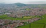Aerial view of Weston Super Mare
