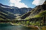 Bullhead Lake in Glacier National Park
