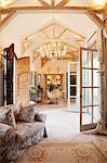 Luxury livingroom and foyer