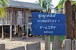 A homestay at Chambok Ecotourism Resort, Cambodia, Indochina, Southeast Asia, Asia