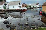 Harbour, Rott island, off Stavanger, Norway, Scandinavia, Europe
