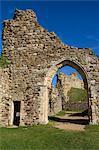 Castle, Hastings, Sussex, England, United Kingdom, Europe