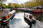 The Grand Union Canal, Little Venice, Maida Vale, London, England, United Kingdom, Europe