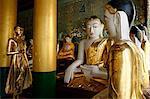 The Shwedagon Pagoda, Yangon (Rangoon), Yangon region, Republic of the Union of Myanmar (Burma), Asia