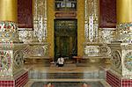 The Bawgyo Pagoda in Thibaw (Hsipaw), Shan State, Republic of the Union of Myanmar (Burma), Asia