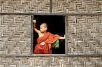 Buddhist monastery, Lashio area, Shan State, Republic of the Union of Myanmar (Burma), Asia