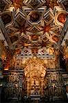 The interior of Igreja de Sao Francisco church, Salvador (Salvador de Bahia), Bahia, Brazil, South America