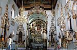 Interior of Igreja Nosso Senhor do Bonfim church, Salvador (Salvador de Bahia), Bahia, Brazil, South America
