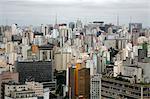 Skyline of Sao Paulo, Brazil, South America