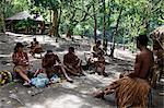 Pataxo Indian people at the Reserva Indigena da Jaqueira near Porto Seguro, Bahia, Brazil, South America