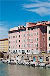 Venice district (Quartiere Venezia), Livorno, Tuscany, Italy, Europe