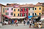 Burano Island, Venice, UNESCO World Heritage Site, Veneto, Italy, Europe