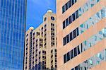Financial District on 5th Avenue, Birmingham, Alabama, United States of America, North America