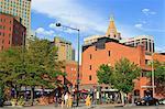 Writers Square on 16th Street Mall, Denver, Colorado, United States of America., North America