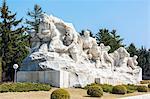 Revolutionary Martyrs' Cemetery, Democratic People's Republic of Korea (DPRK), Pyongyang, North Korea, Asia