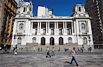 Camara Municipal (Town Hall) in Praca Floriano (Floriano Square), Centro, Rio de Janeiro, Brazil, South America