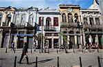 Colonial architecture, Fatima, Rio de Janeiro, Brazil, South America