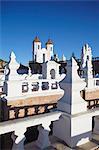 Rooftop of Convento de San Felipe Neri, Sucre, UNESCO World Heritage Site, Bolivia, South America