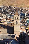 View of Convento de San Francisco, Potosi, UNESCO World Heritage Site, Bolivia, South America
