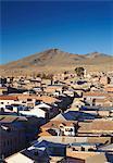 View of Potosi, UNESCO World Heritage Site, Bolivia, South America