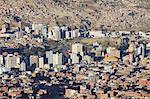View of La Paz, Bolivia, South America