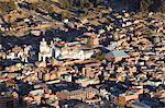 View of Copacabana Cathedral, Copacabana, Lake Titicaca, Bolivia, South America