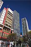 Skyscrapers along Avenida 16 de Julio (El Prado), La Paz, Bolivia, South America