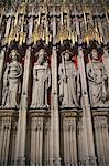 Statues of Saints, York Minster, York, Yorkshire, England, United Kingdom, Europe