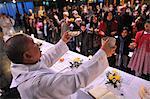 Maundy Thursday, Easter week celebration, Paris, France, Europe