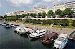 Paris Bastille harbour, Paris, France, Europe