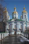 St. Nikolas's Cathedral, St. Petersburg, Russia, Europe