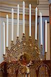 Hanukkah Menorah, Grand Choral Synagogue, St. Petersburg, Russia, Europe